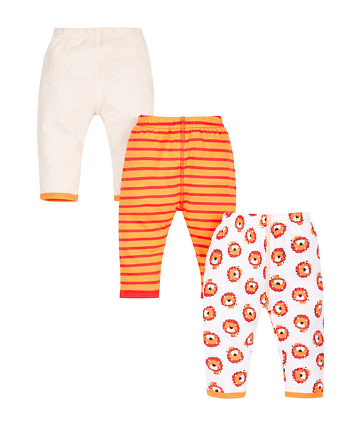 Little Lion Leggings - 3 Pack