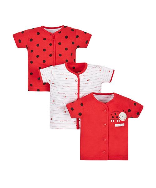 Ladybird Tops - 3 Pack