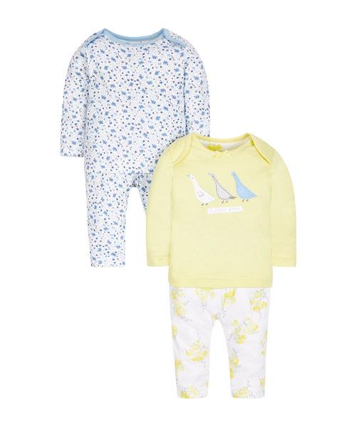 Pretty Geese Pyjamas - 2 Pack