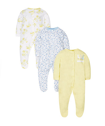 My First Little Lamb Rompers - 2 Pack