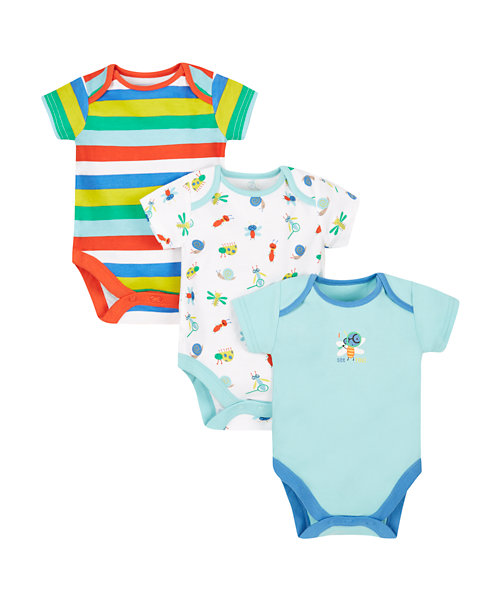 Bugs Bodysuits - 3 Pack