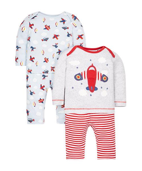 Planes Pyjamas - 2 Pack