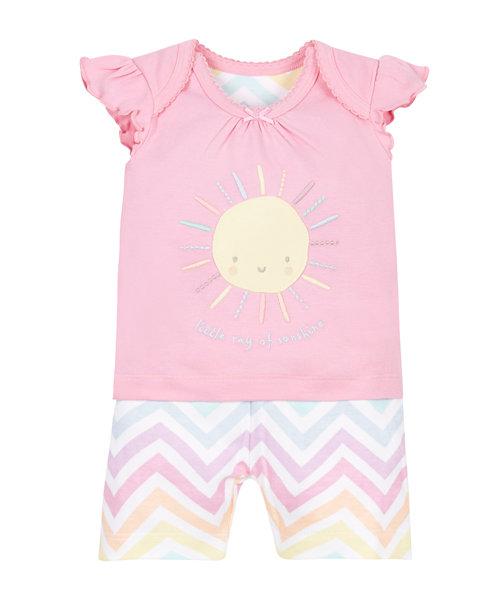 Sunshine Shortie Pyjamas