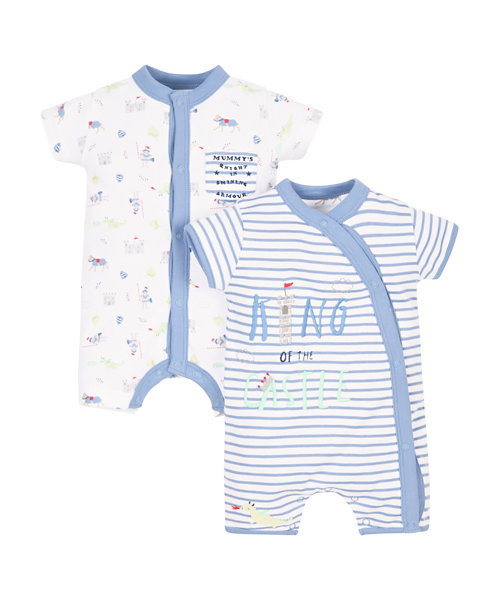 Knight Rompers - 2 Pack