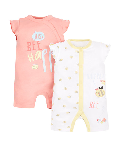 Bee Romper - 2 Pack