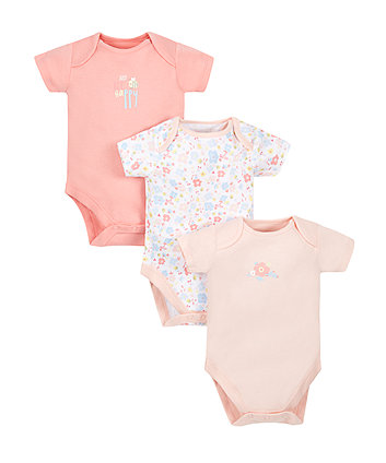 Bee Bodysuits - Pack Of 3