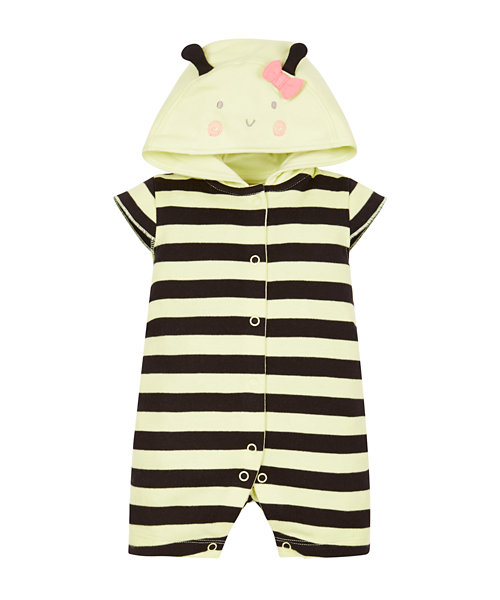 Bee Dress Up Romper