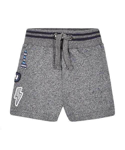 Charcoal Badge Shorts