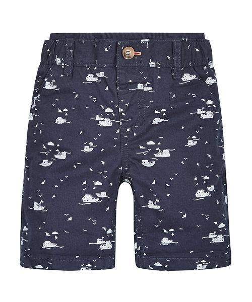 Ribwaist Boat Chino Shorts