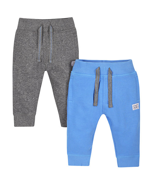 Blue and Grey Joggers - 2 Pack