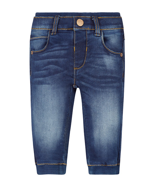 Dark Wash Ribwaist Jeans