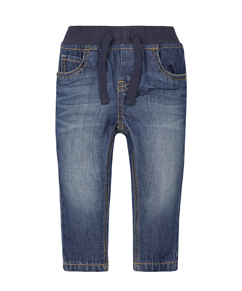 Medium Wash Ribwaist Jeans