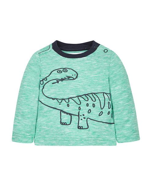 Dinosaur Wraparound T-Shirt