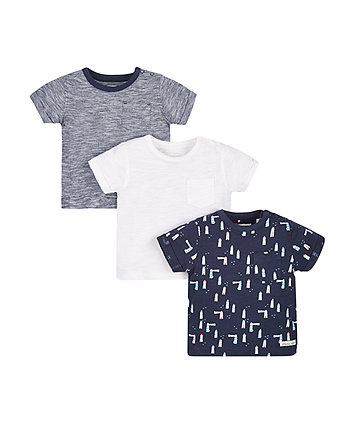 Lighthouse T-Shirts - 3 Pack