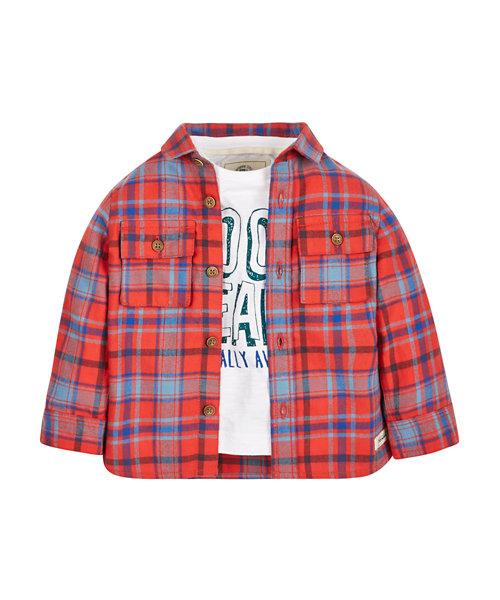 Cool Bean T-Shirt and Check Shirt