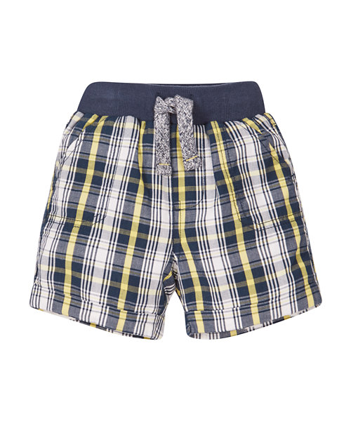 Ribwaist Check Shorts