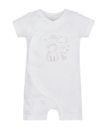 Little Lamb And Duck Romper