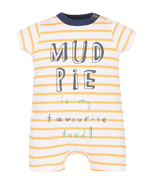 Mothercare Mud Pie Stripe Romper