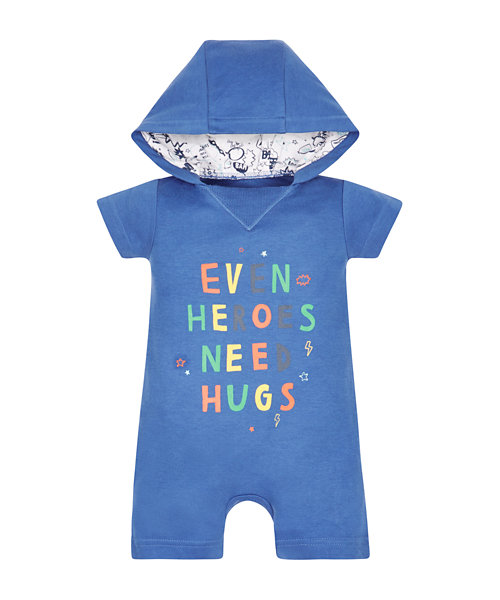 Hooded Hero Romper