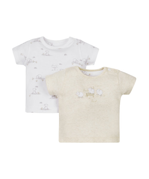 Counting Sheep Tops - 2 Pack
