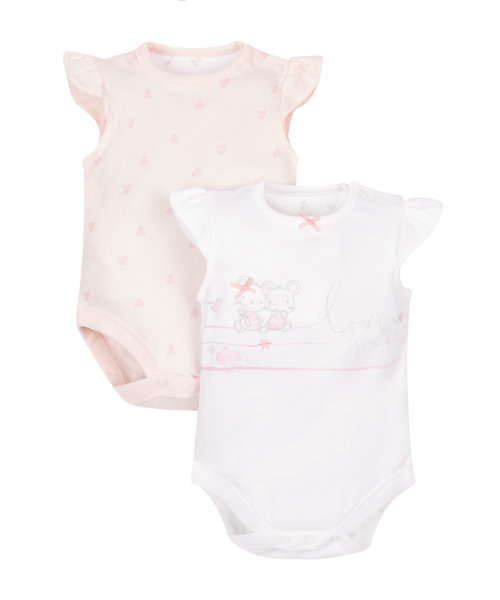 Little Mouse Bodysuits - 2 Pack