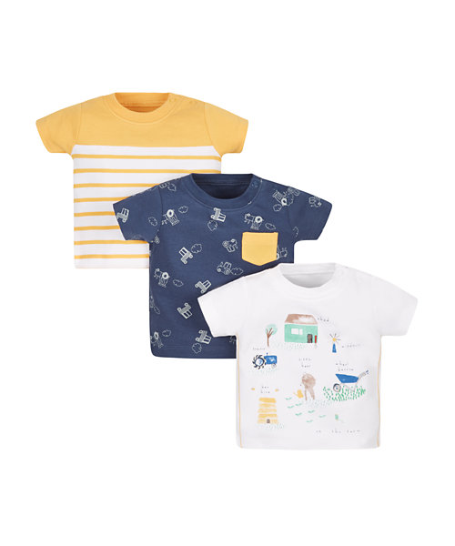 Farm T-Shirts - 3 Pack