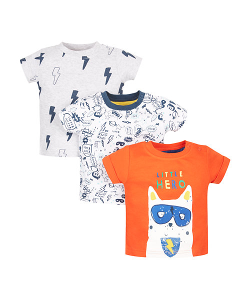 Super Hero T-Shirts - 3 Pack