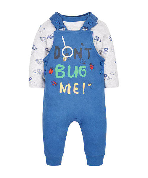 Don't Bug Me Dungaree Set