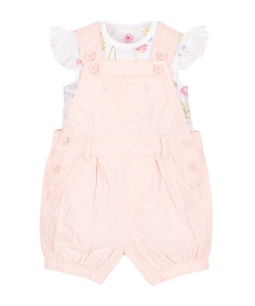 Bodysuit and Bibshorts Set