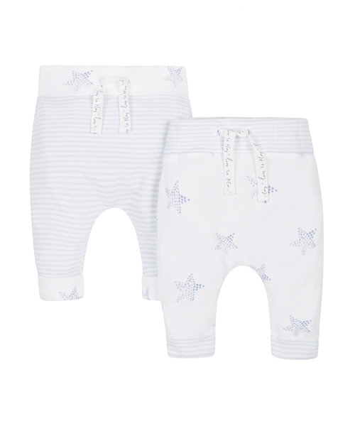 My First Star and Stripe Leggings - 2 Pack