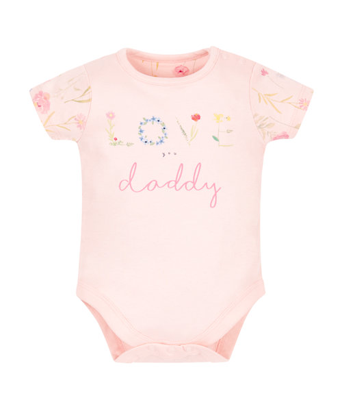 Pink Love Daddy Bodysuit