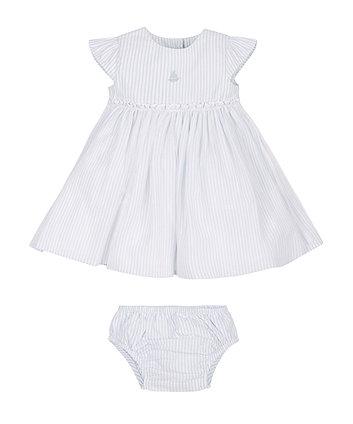 Stripe Tutu Dress and Knickers