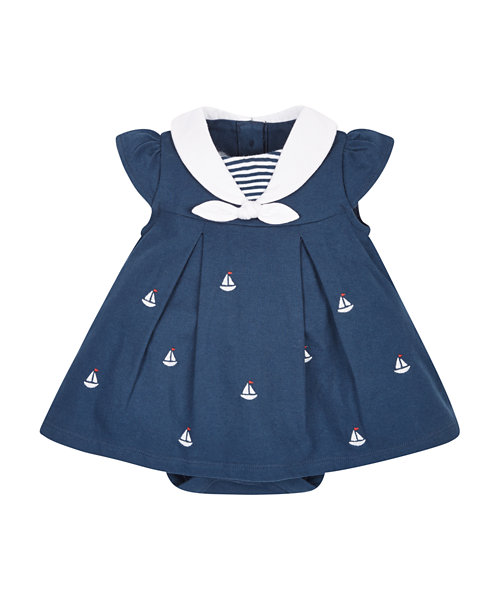 Sailor Romper Dress