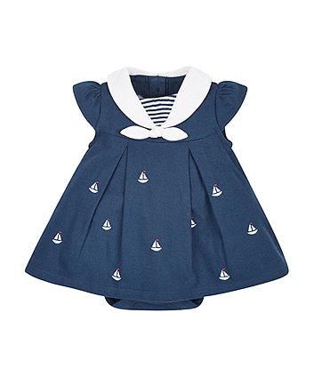 Sailor Romper Dress