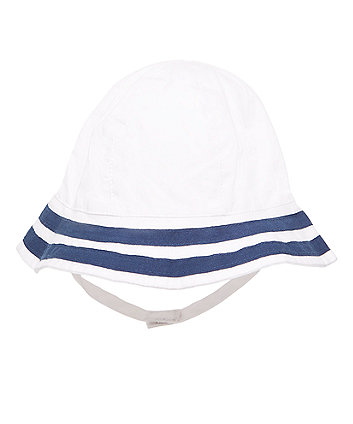 Nautical Sunhat with Ties