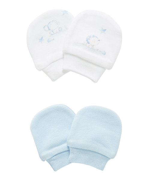 Little Lion Scratch Mitts - 2 Pack