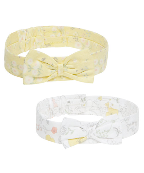 Floral Headbands - 2 Pack