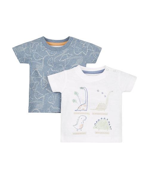 Dinosaur T-Shirts - 2 Pack