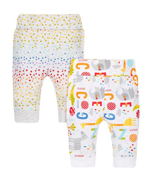 Spot and Printed Leggings - 2 Pack