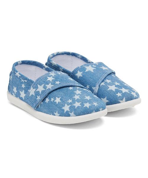 Denim Stars Canvas Shoes