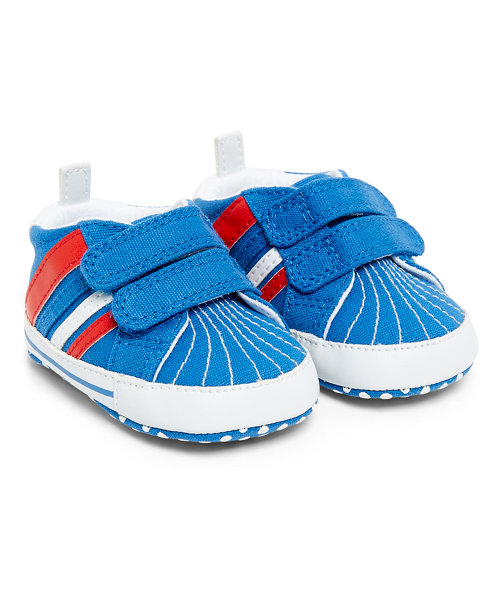 Red and Blue Trainers