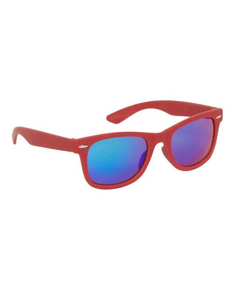 Red Wayfarer Sunglasses