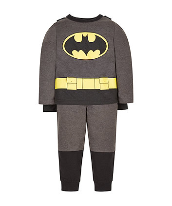 Mothercare Dc Batman Dress Up Pyjamas