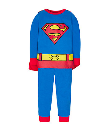 Mothercare Superman Dress Up Pyjamas