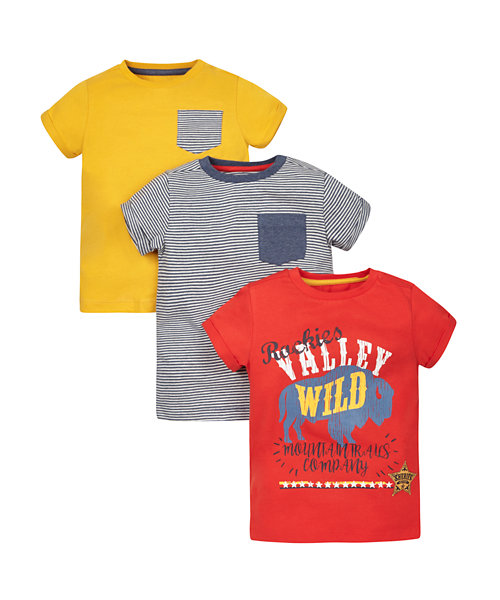 Mountain Trails Company T-Shirts - 3 Pack