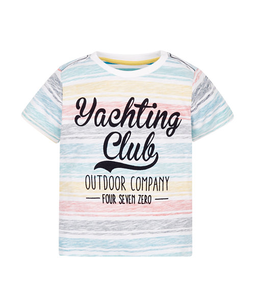 Pastel Yachting Club T-Shirt