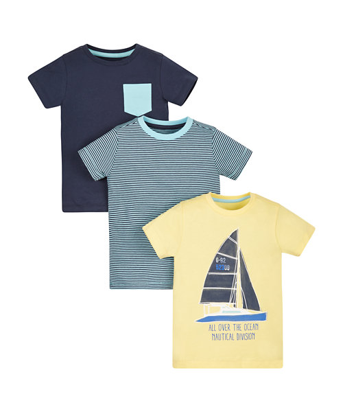 Adventure T-Shirts - 3 Pack