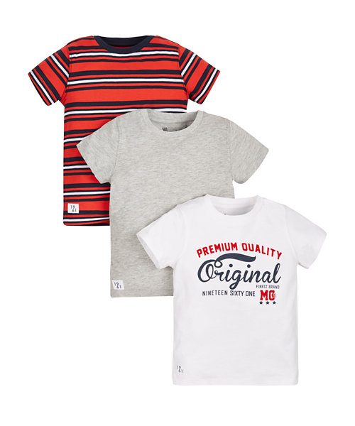 Graphic T-Shirts - 3 Pack