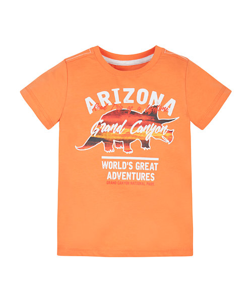 Triceratops Road Trip T-Shirt