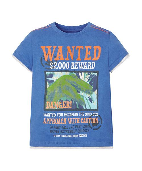 Wanted Dinosaur T-Shirt